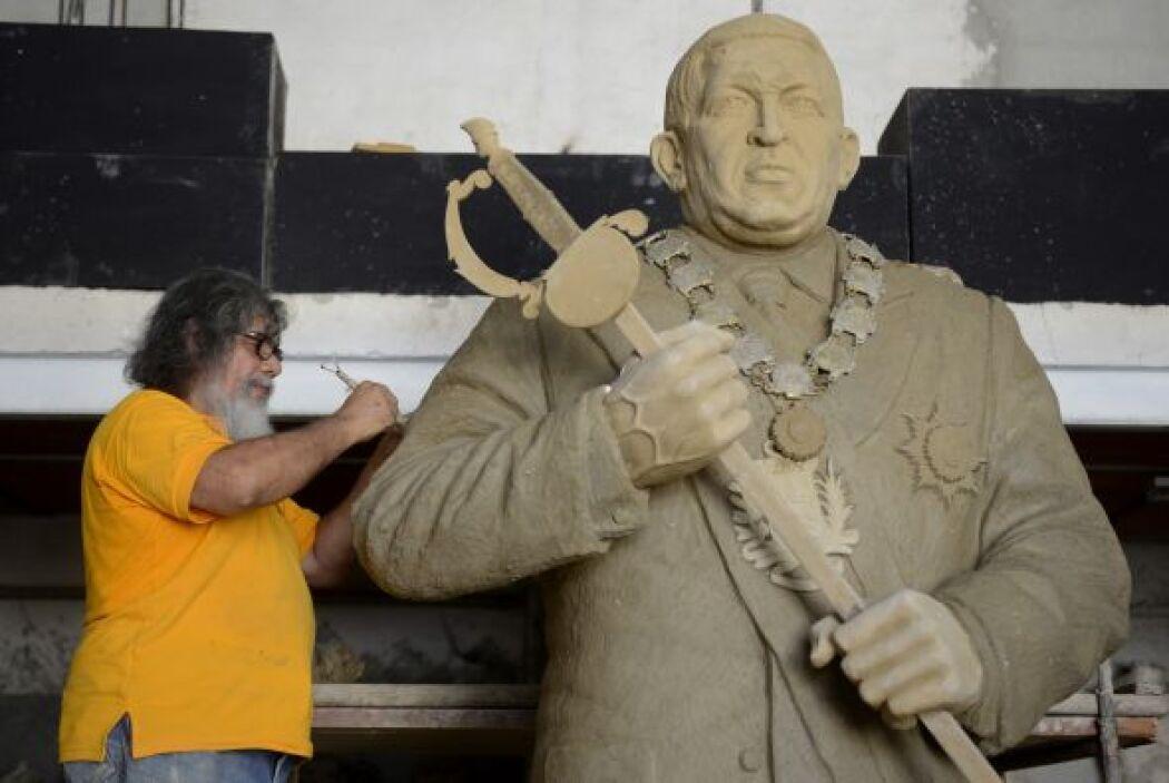 La estatua aún no tiene un emplazamiento definido.