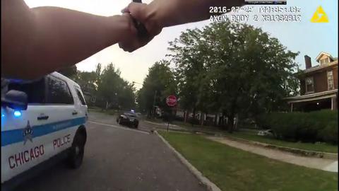 Imagen de uno de los videos del tiroteo en el que perdió la vida...
