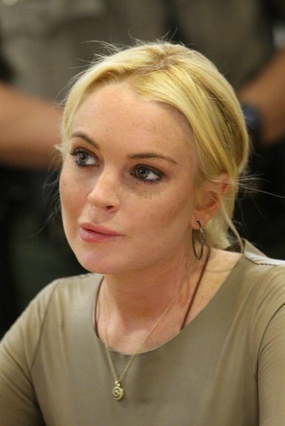 En marzo 10 del 2011 Lindsay volvió a su lugar más recurrente. Esta vez...
