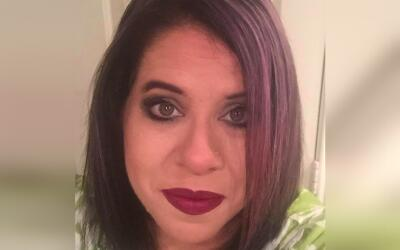 Gina Balderas fue vista por última vez en la la calle S. Brentwoo...