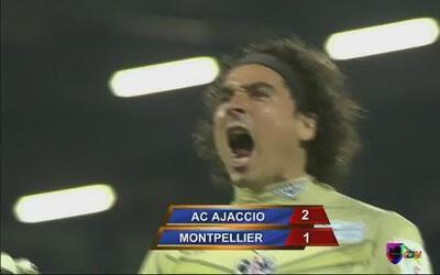 Gran actuación de Guillermo Ochoa en la victoria del Ajaccio 2 - 1 contr...