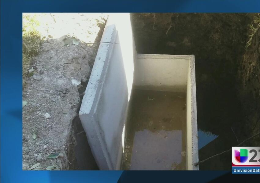 Denuncian exhumación del cadáver de bebé