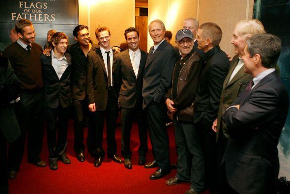 Paul (izquierda) fue dirigido por Clint Eastwood en esta producción de S...