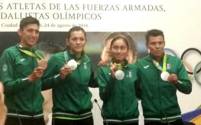 Medallistas olímpicos de México