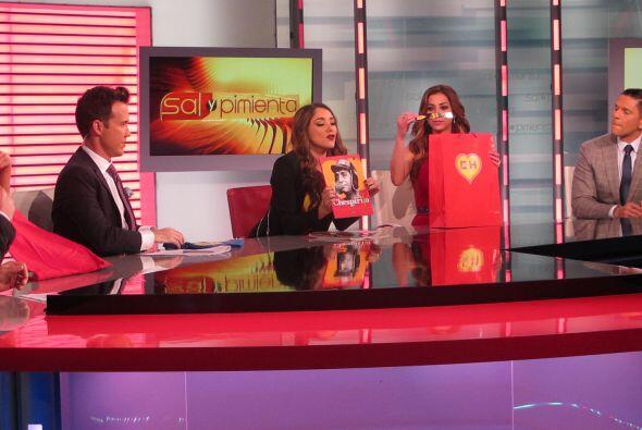 La actriz se presentó para hablar de su nuevo proyecto en homenaje a Che...