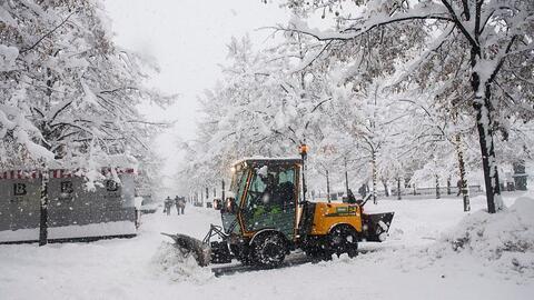 En época de nieve, la cautela es clave para evitar accidentes como el qu...