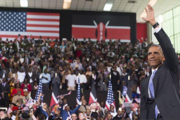 Dijo también que está confiado del progreso de Kenia.