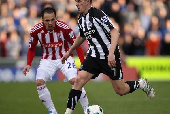 El Newcastle recibió una goleada histórica sobre el Stoke...