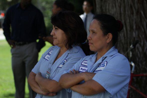 """Muchos latinos vieron a apoyar a los """"dreamers"""""""