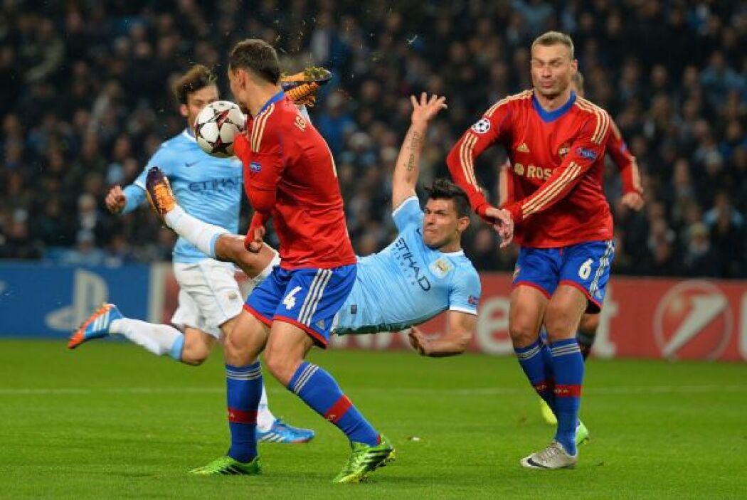 Los ingleses estaban dominando el partido a placer.