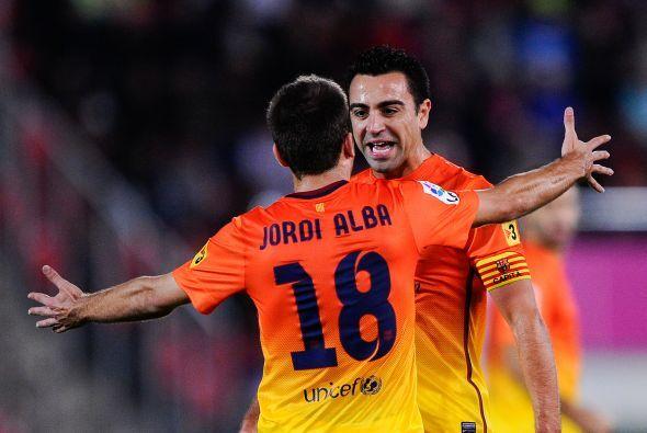 El capitán del Barcelona fue el autor del primer gol en un juego complic...
