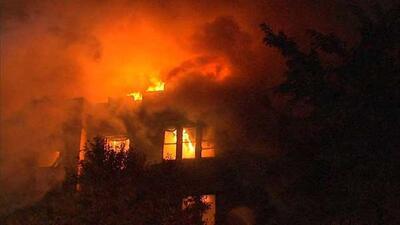 Incendio en Oak Park