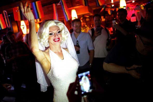 Carlota Gurl, activista canadiense por los derechos de la comunidad LGBT...