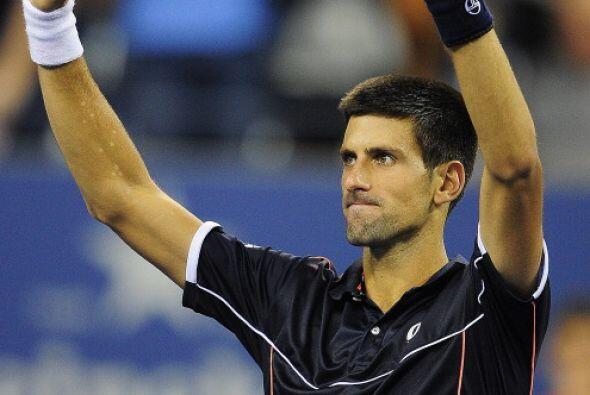 El número uno del mundo, Novak Djokovic, venció al ruso Nikolay Davydenk...