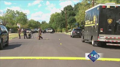 Sospechoso es herido por oficiales en balacera