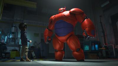"""Un peculiar nuevo héroe en """"Big Hero 6"""""""