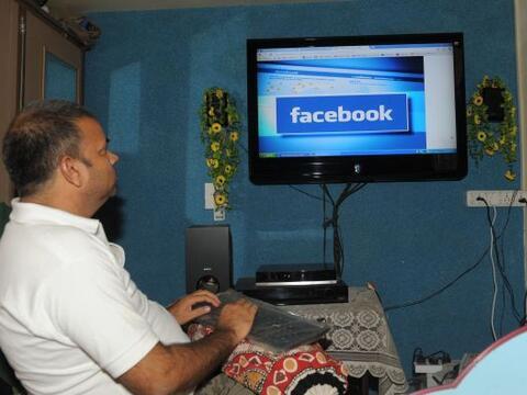 El debut del gigante de las redes sociales Facebook en la Bolsa neoyorqu...