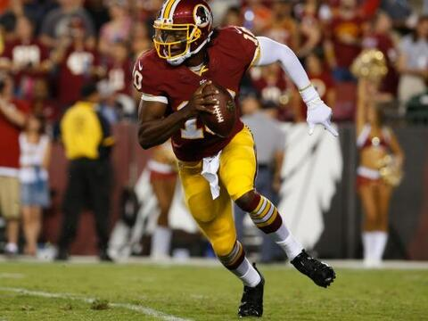 Robert Griffin III, QB, Washington Redskins..