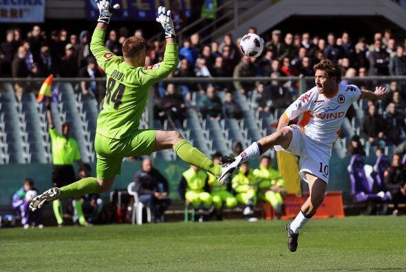 El líder de la Roma fue más que importante en el duelo ante la Fiorentina.