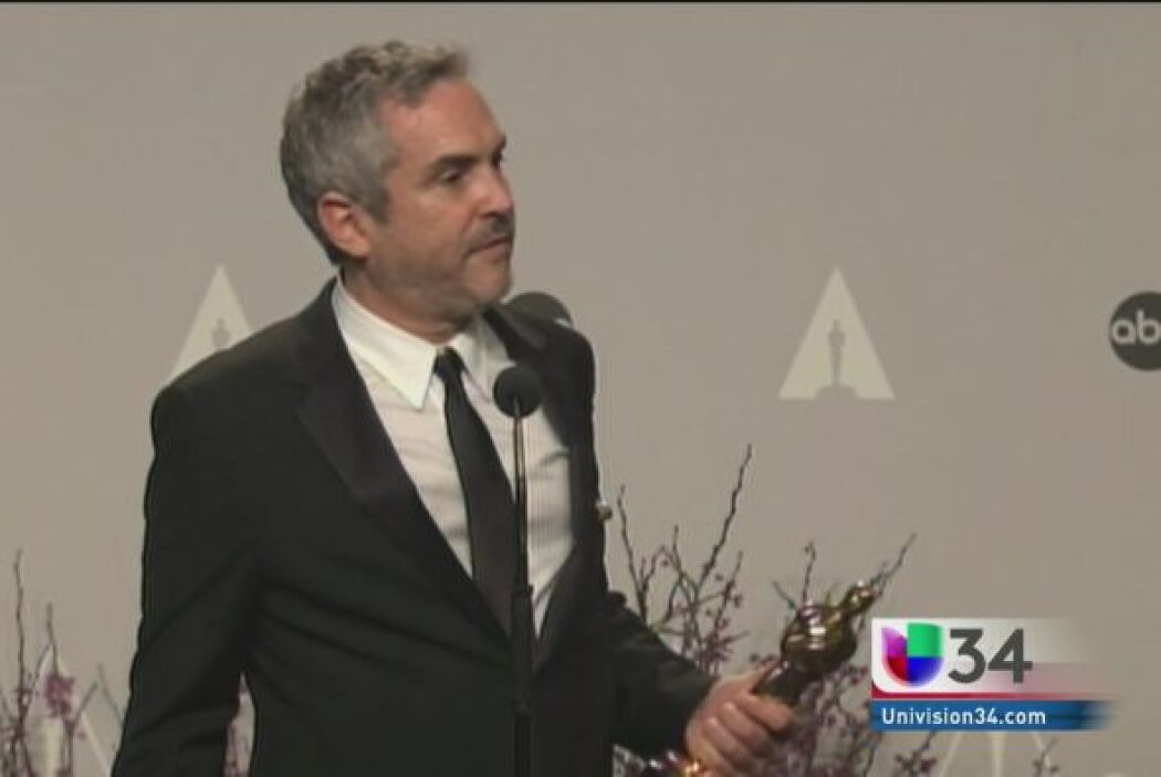 Cuaron el rey de los Oscars:  El director habló sobre su triunfo en la e...
