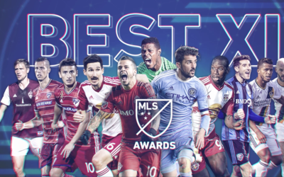 Once Ideal de la MLS en 2016