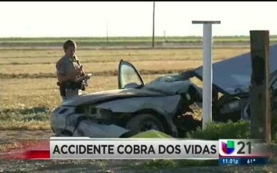 Adolescentes pierden la vida en accidente