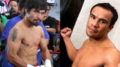 Manny Pacquiao y Juan Manuel Márquez ha protagonizado dos épicos combate...