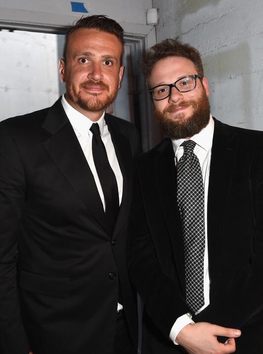Seth Rogen y Jason Segel también tienen 'dad bods'