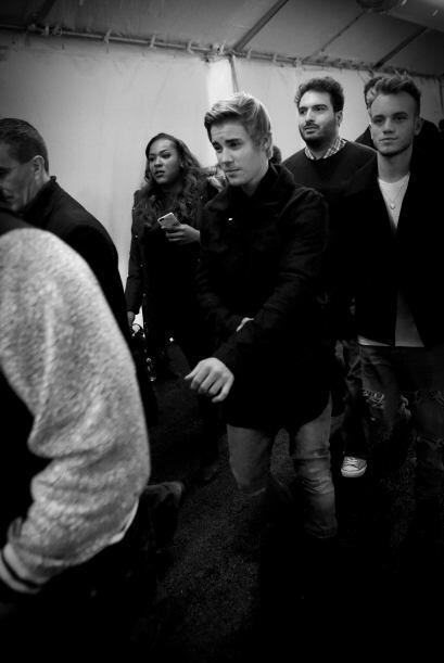 Los primeros días, Justin Bieber no quería ser captado por ningún fotógr...