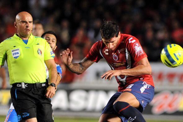 El silbante Francisco Chacón no marcaría la pena máxima a favor de Puebl...