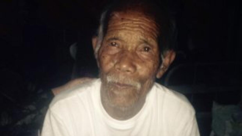 Funchu Tamang, el hombre de al menos 100 años, fue trasladado al hospita...