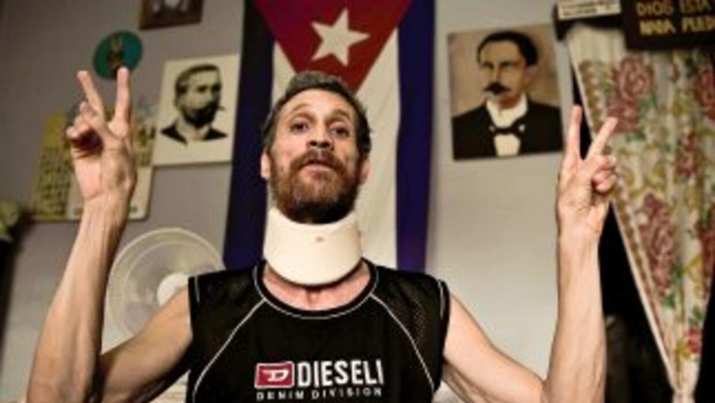 El ex preso político cubano, Ariel Sigler podría caminar de nuevo dijero...