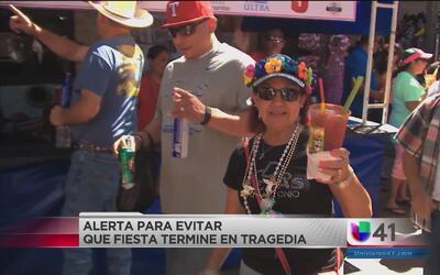Autoridades hacen un llamado para no manejar ebrios durante Fiesta San A...