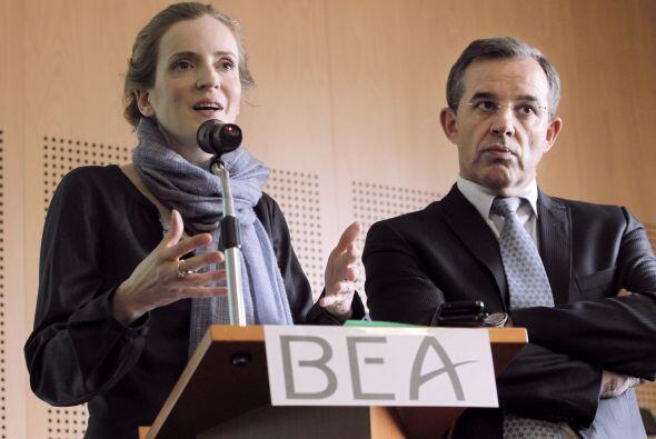 La cuarta fase de búsqueda lanzada por el BEA abarca una zona de...