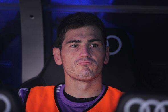 El capitán del Madrid no se veía nada contento pero, tal y como lo ha he...