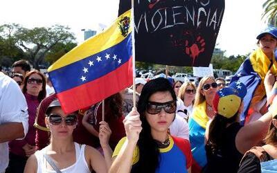 No paran las protestas en Venezuela