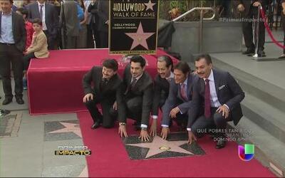 El paseo de la fama de Hollywood ahora tiene ritmo norteño