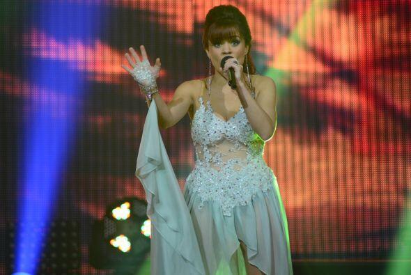 Pero Ana Cristina fue salvada por Alejandra Guzmán tras cantar en la lín...