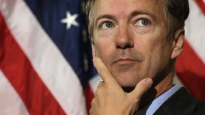 El Senador republicanoRand Paul.