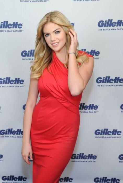 Kate Uptonfue anunciada como la modelo elegida por la revista Sports Il...