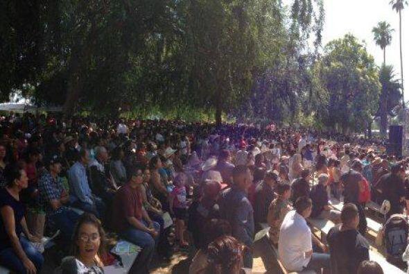 Cerca de ocho mil personas disfrutaron de un ambiente familiar con músic...