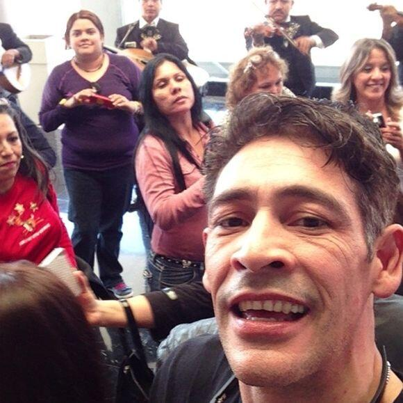 """""""Hasta luego Monterrey El Reencuentro los quiere"""", dijo Johnny Lozada. (..."""