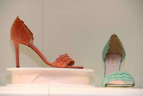 La polifacética actriz, empresaria y madre lanzó su colección de calzado...