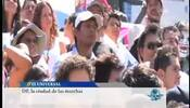 25 mil marchas en la ciudad de México este 2012