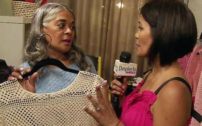 Ella empezó tejiendo en familia y ahora es una gran diseñadora de modas