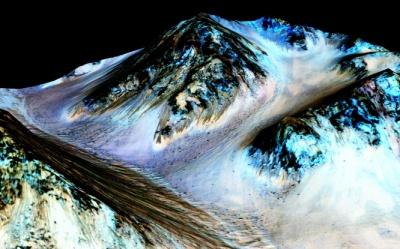 Agua en el Planeta Martes
