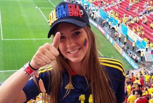 Nicole Regnier es la hermosa crack colombiana de sólo 19 a&ntilde...