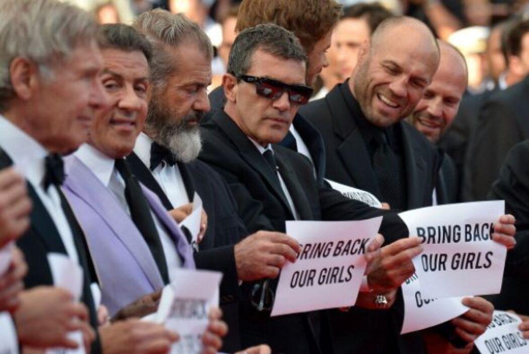 Harrison Ford, Sylvester Stallone, Arnold Schwarzenegger, Mel Gibson, An...