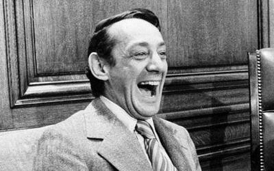El activista gay Harvey Milk.