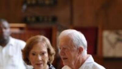 Jimmy Carter cumplió una visita de tres días en Cuba, y luego recibió lo...